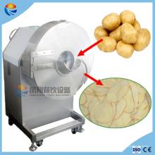 Grande coupe automatique de coupeur de morceaux de pomme de terre de banane faisant la machine avec le bon prix