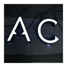 Led lighted acrylic alphabet letter sign 3d acrylic letters for signage Led Decor Advertising Letters