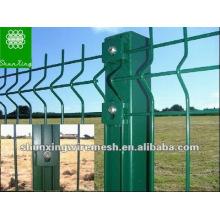 Anping PVC revestido soldado Wire Mesh barato cerca painéis