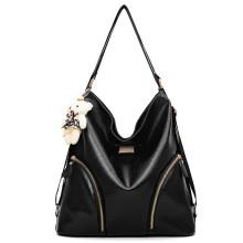 Design of safety burglar alarm lady shoulder bags