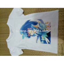 Förderndes billiges weißes T-Shirt Digitaldruckgewohnheit T-Shirt