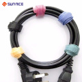 Colorful Hook and Loop Soft Cable Strap