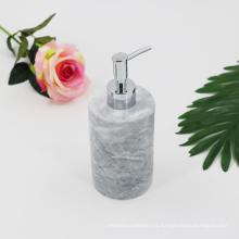 Distributeur de lotion en marbre Home Home Distributeur de savon liquide en granit avec pompe en acier inoxydable