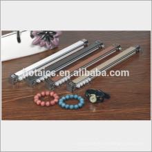 Metall Deckenschiene Elfenbein Vorhang Stange
