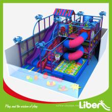 Kids kindergarten free standing  playground slides