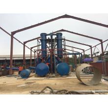 Pirólisis de alto rendimiento usada que recicla la pirólisis a la planta de petróleo para la venta Zhengzhou