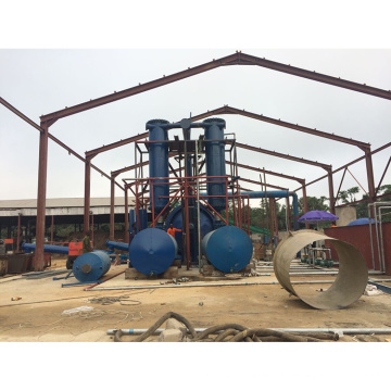 High Output Used Tire Recycling Pyrolysis To Oil Plant For Sale Zhengzhou