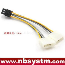 SATA 2 x 4pin to 6pin power cable, Express Card power cable