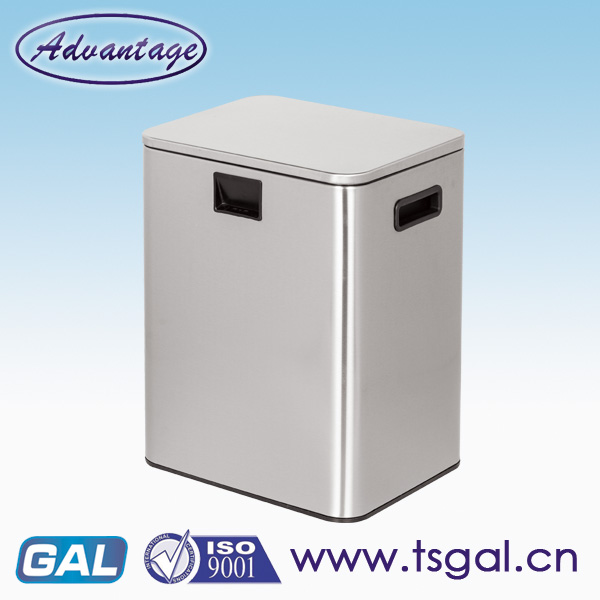 Stainless Steel automatic recycle bin