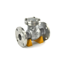 Best sales forging steel high temperature and low pressure check valve pn40 price list