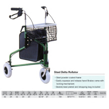 Hot Selling Steel Delta Rollator