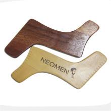 FQ marca shaper madera barba formando plantilla herramienta
