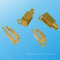 Contact d'alimentation et laiton Bolton Contact avec Nickel Plating (HS-BC-036)