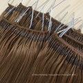 2021 New Arrival Human Hair Virgin Hair Salon Use 12A 6# Color Knot Thread Hair Extension Remy Hair