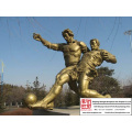 High quality Handmade Stainless Steel Sculpture