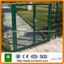 Загородные ворота с порошковым покрытием