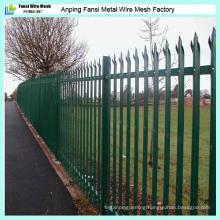 2.75m Width W Pale Steel Palisade Fencing