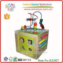 Kinder spielen Maze Spiel hölzernes intelligentes DIY Spielzeug