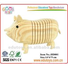 2012 nuevo juguete de madera de DIY