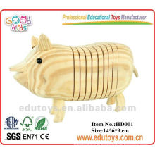 2012 New Wooden DIY Toy