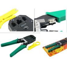 Плоскогубцы для кабелей, Плоскогубцы для телефонной линии, Al-8p8c, 6p6c, 4p4c