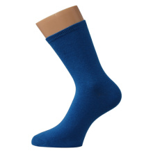 Blue Enkel Man Socks