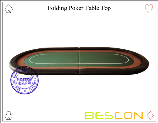 Folding Poker Table Top-2