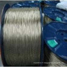 Corde en acier (3 * 0.27HT)