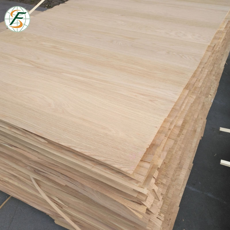 Oak Faced Veneer Plywood 4