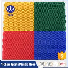 Suelo que se enclavija al aire libre del deporte de los PP de Yichen para el suelo del bádminton