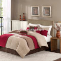 Madison Park Sundance Comforter Duvet Cover Pieced Red Bedding Set