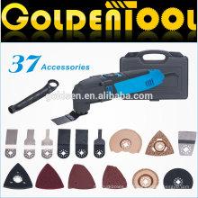 Venta caliente 37pcs 220w portable Handheld oscilante vibrante multifunción herramienta de energía eléctrica