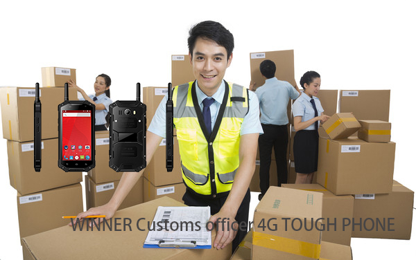 Customs officer 4G TOUGH PHONE