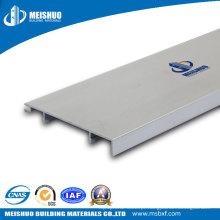 Cobertura da placa de rodapé para bordas de parede