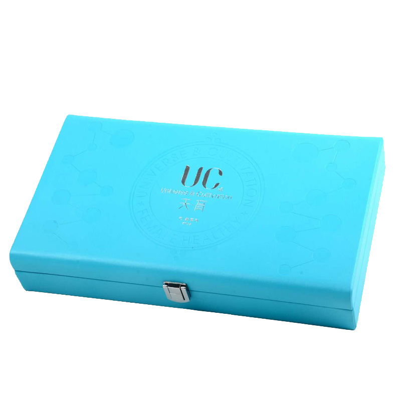 Wooden Cosmetic Clamshell Rigid Gift Box