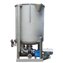 Loose fiber dyeing machine vertical type
