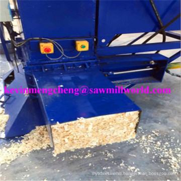 Hydraulic Wood Shaving Baler Vertical Metering Baling Machine