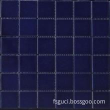 Dark Color Ceramic Swimming Pool Tiles (Y4807)