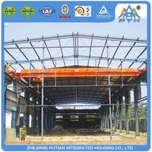 Schnell installierte EPS / PU / XPS Sandwichplatte Stahlbau Werkstatt