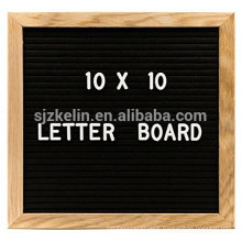 Hot Sale Wooden 10x10 felt letter Board