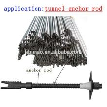 Tubes et tuyaux en acier à base de carbone dur et sans soudure pour tunnels et bagues d'ancrage