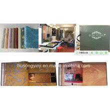 Wall Paper Album Siebdruckmaschine mit Sheeter