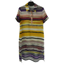 Ladies' Striped Casual Dress