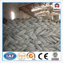 Heavily zinc coated galvanized wire