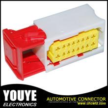 Conector branco do fio híbrido do poliéster fêmea automotivo do conector de 16 Pin para Citroen