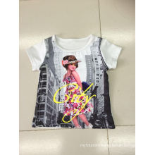 Lovely Girl T-Shirt in Children Clothes with Photo Print (SGT-004)