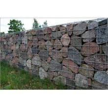 Prévention de la cage de pierre en acier revêtue de PVC et de protection anti-érosion