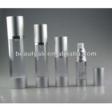 Alumínio Cosmetic Airless AS Garrafa 15ML 30ML 50ML 100ML 200ML
