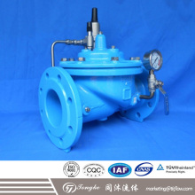 Automatically Pressure Reducing Control Valve