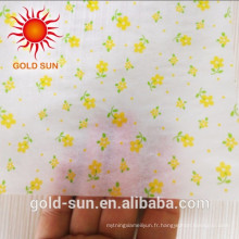 2016 papier d'impression bon marché de papier parchemin de couleur d'impression